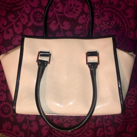 Ted Baker Handbags - Ted Baker Blush Patent Leather Handbag